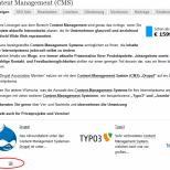 Webseiten PDF, Druck und E-Mail Versand mit Drupal CMS