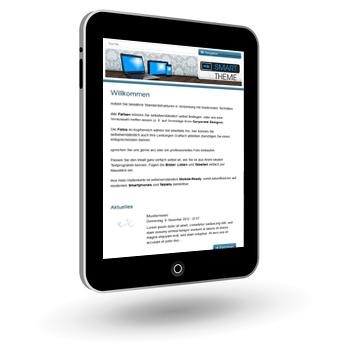 Responsive Webdesign Drupal CMS