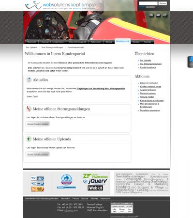 Beispiel für die Einbindung eines KIS in Ihre Drupal Homepage